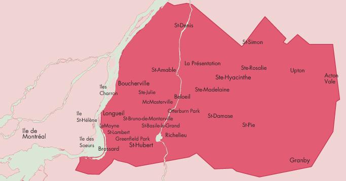 Mimosa-Map livraison
